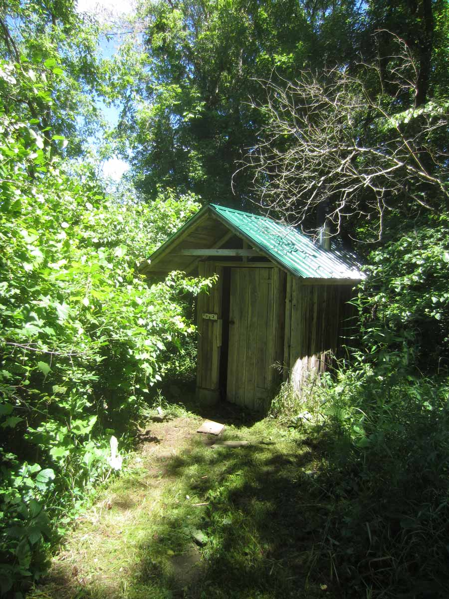Windy Hill Farm House Outhouse