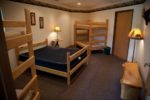 Couples Room North - Queen Bed and Bunks
