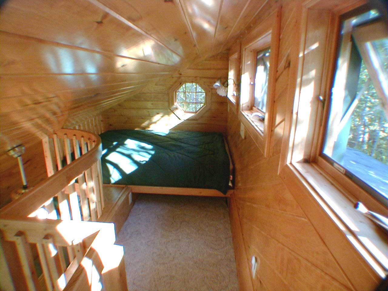 prayer cabins Bo Prayer Cabin Loft with Queen Bed