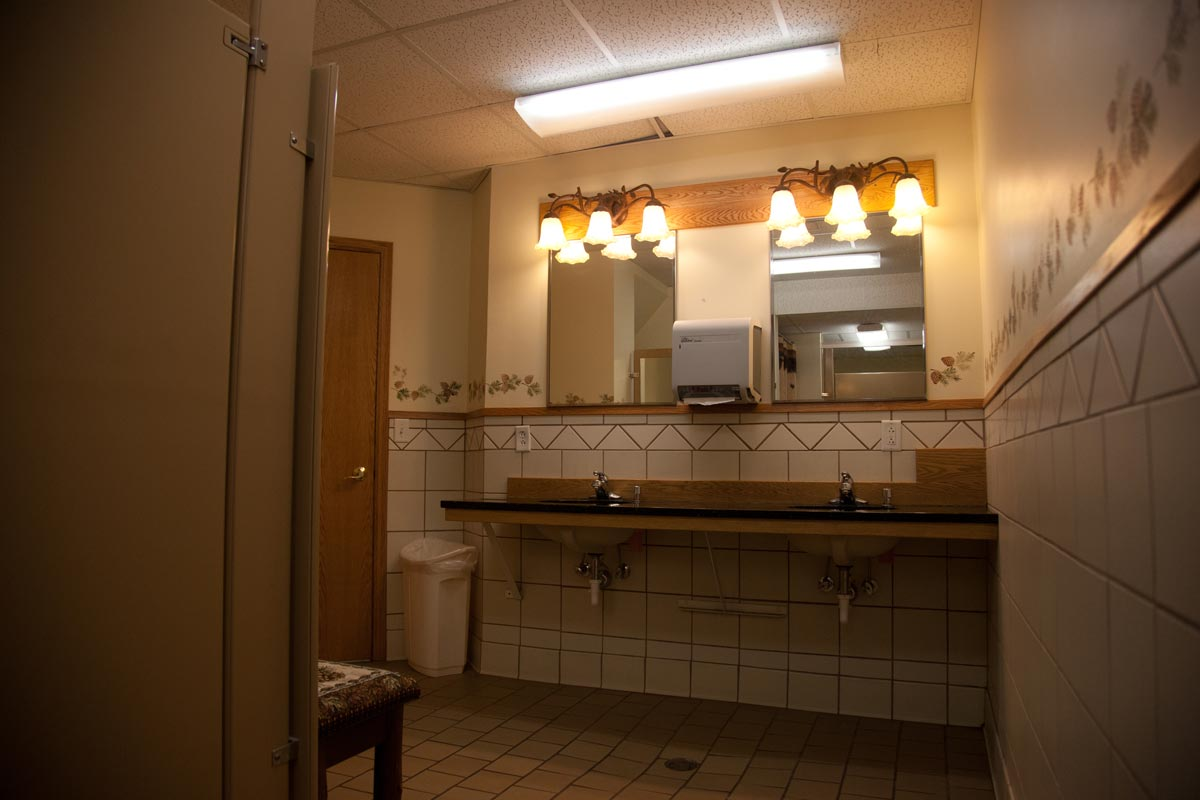 FFRC Restroom Dual Sinks