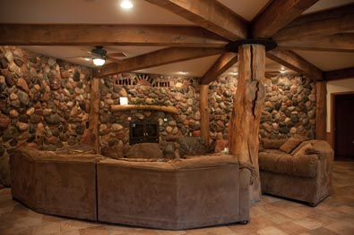 Founders Fireside Retreat Center Fireside Conversation Area