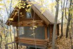 prayer cabins Klawitter Prayer Cabin Entrance