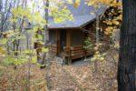 prayer cabins Timothy Prayer Cabin Entrance