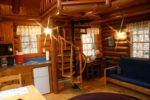 prayer cabins Timothy Prayer Cabin Kitchenette, Desk and Living Area