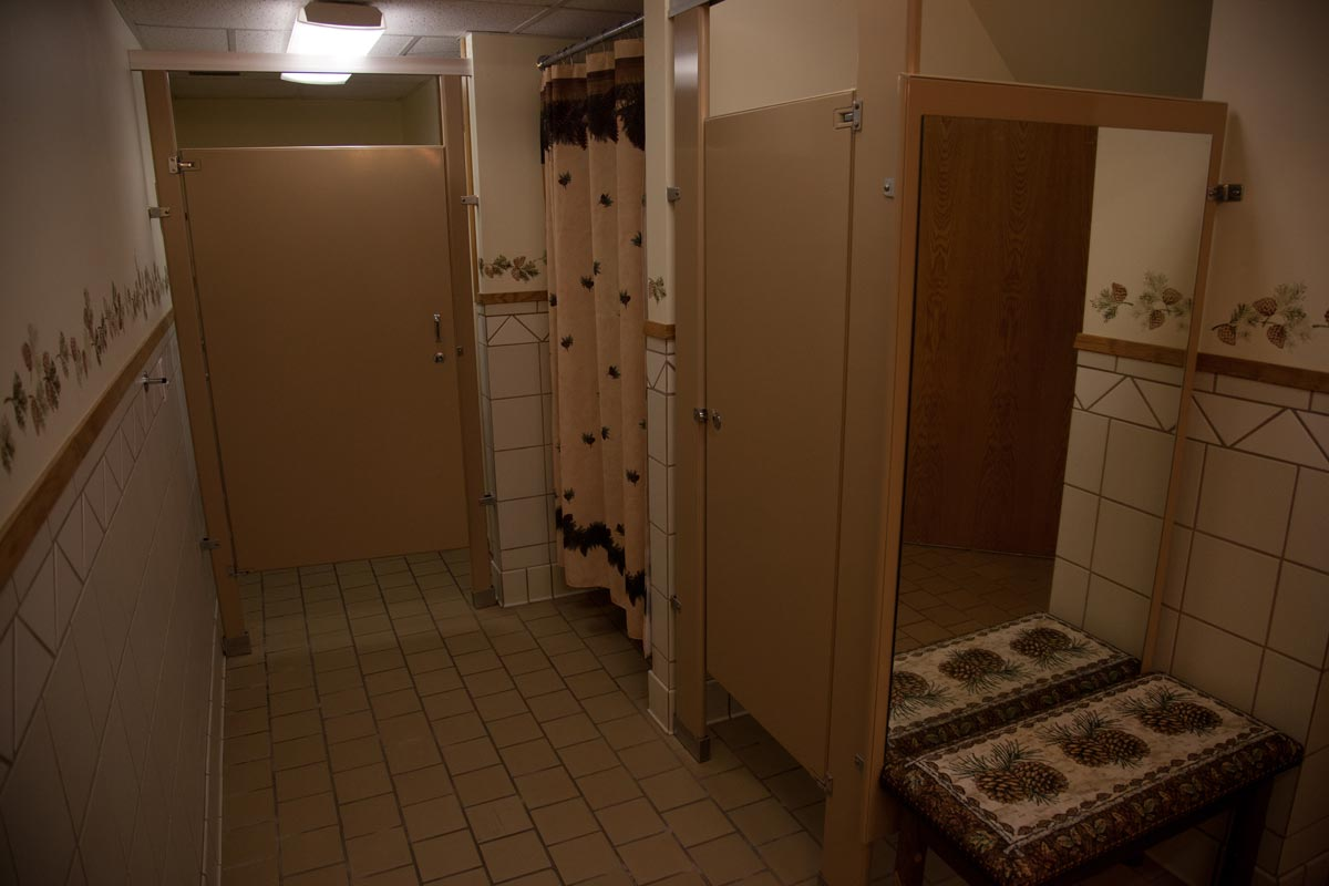 Couples Room Restroom Shower Area - The Wilderness Fellowship Ministries
