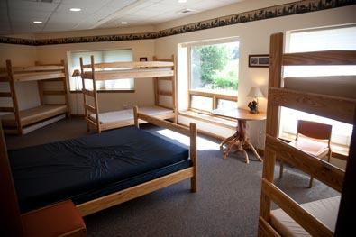 Founders Fireside Retreat Center Sleeping Area-South Room