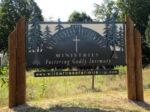 TWFM Entrance Sign in Summer