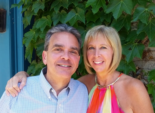 Wilderness Fellowship Board Member Brian Stephany with wife Kate