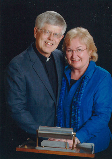 Wilderness Fellowship Board Member Dave Jore with wife Judith