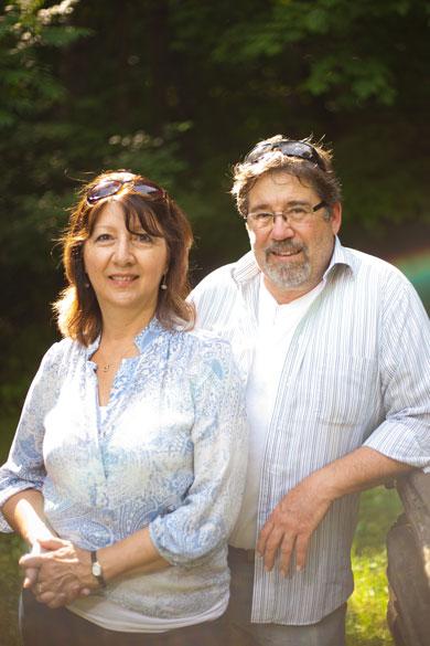 Wilderness Fellowship Staff Member Marylin Barrett with husband Mark