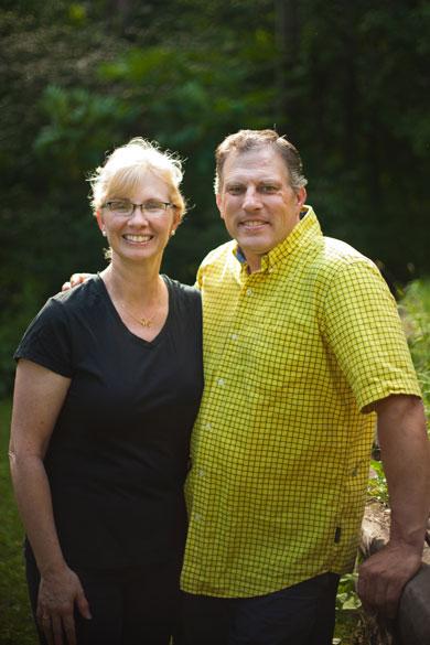 Wilderness Fellowship Staff Member Randy Klawitter with wife Renee