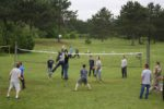 Wilderness Fellowship Volleyball in Game Court