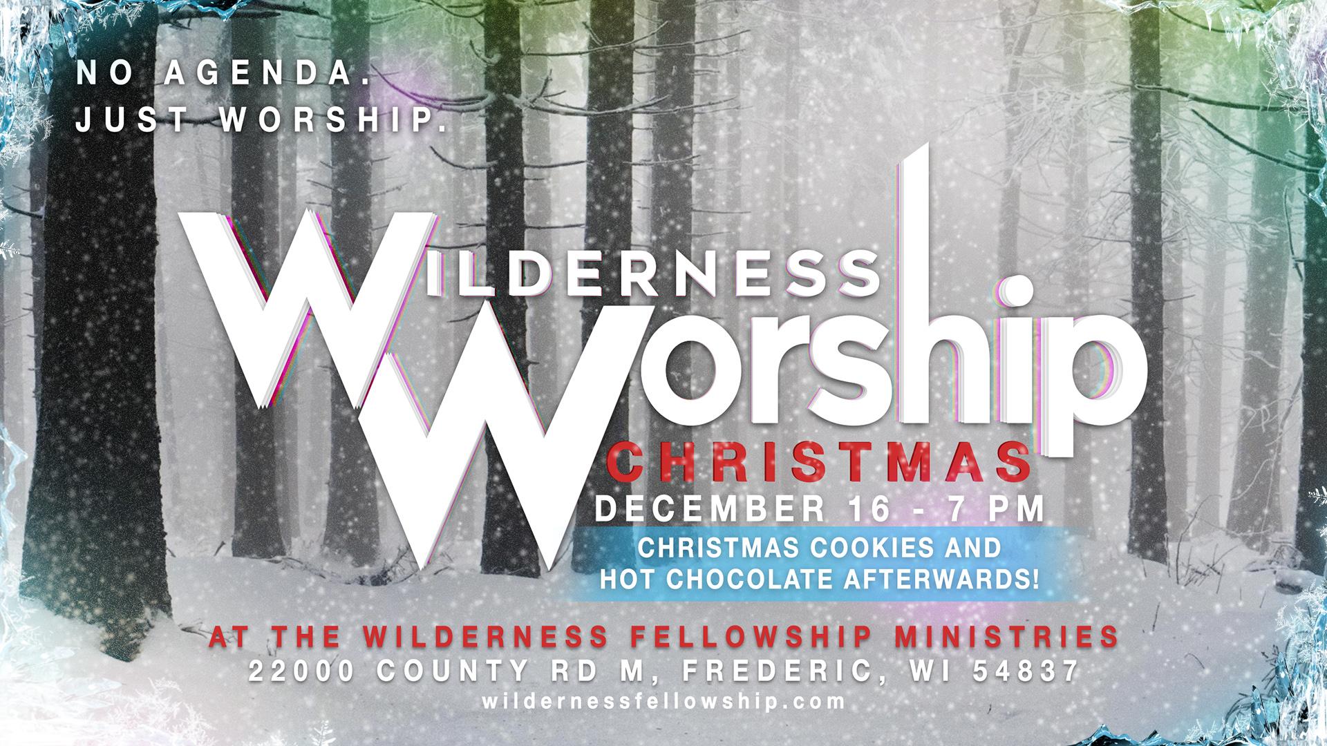 Wilderness Worship Night