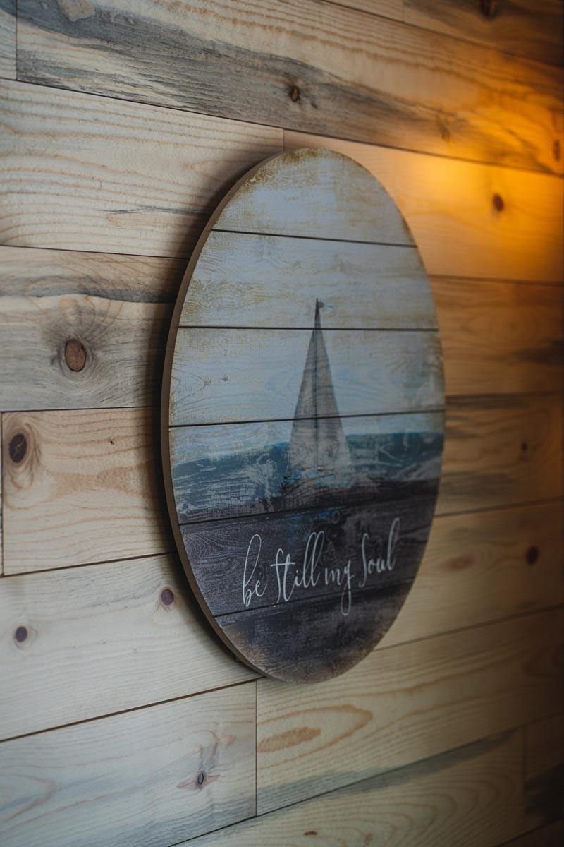 whisper prayer cabin wall decor