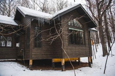 whisper prayer cabin exterior