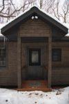 whisper prayer cabin front door