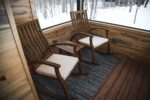 whisper prayer cabin front porch