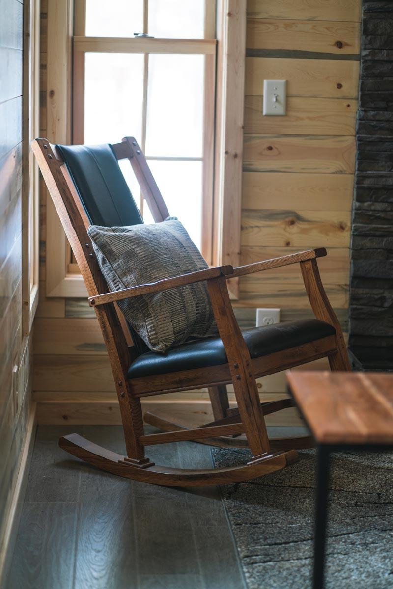 prayer cabin Whisper Prayer Cabin Rocking Chair